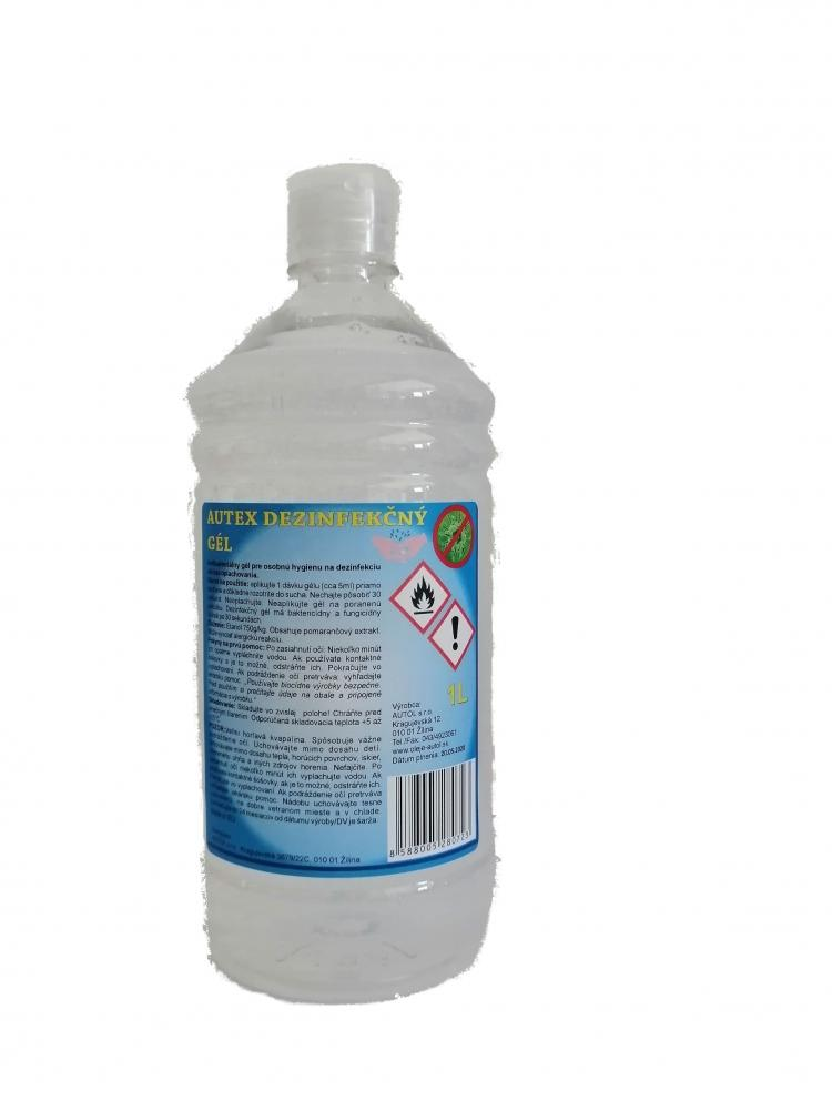 AUTEX DEZINFEKCNY GEL 1L PET