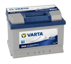 VARTA BLUE DYNAMIC 12V/60 Ah /P/